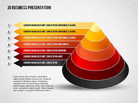 3D Business Presentation, Slide 8, 02341, Presentation Templates — PoweredTemplate.com