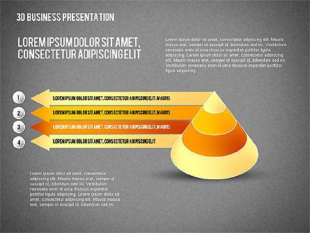 3D Business Presentation, Slide 9, 02341, Presentation Templates — PoweredTemplate.com