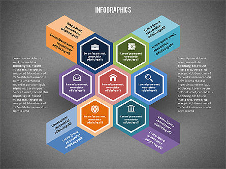 Infographic Elements Toolbox, Slide 14, 02342, Infographics — PoweredTemplate.com