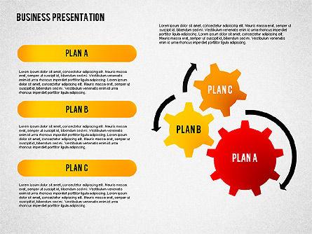 Business Presentation with Globe, Slide 4, 02344, Presentation Templates — PoweredTemplate.com