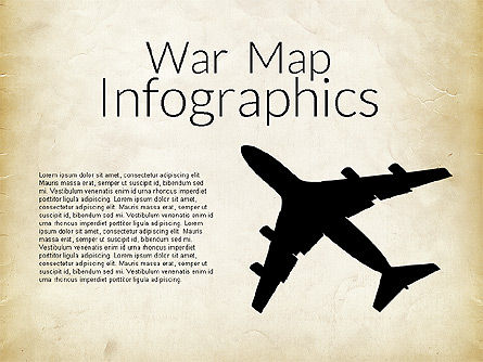 Military Infographics, 02347, Infographics — PoweredTemplate.com