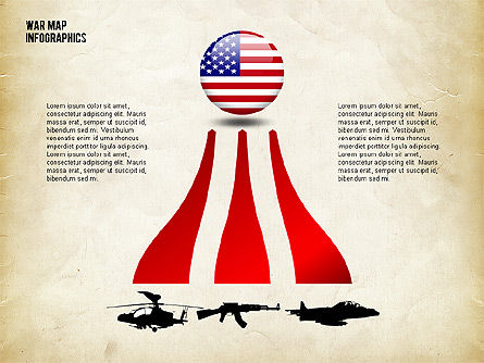 Military Infographics, Slide 3, 02347, Infographics — PoweredTemplate.com