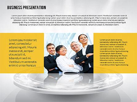 Business Team Presentation Template (data driven), Slide 2, 02349, Presentation Templates — PoweredTemplate.com