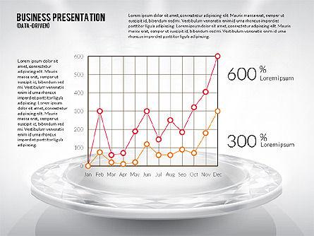 Business Team Presentation Template (data driven), Slide 3, 02349, Presentation Templates — PoweredTemplate.com