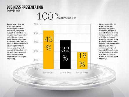 Business Team Presentation Template (data driven), Slide 4, 02349, Presentation Templates — PoweredTemplate.com