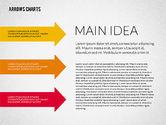 Process Diagrams: Presentatie met pijlen #02350