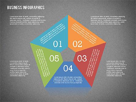 Business Infographics with Smartphone, Slide 12, 02352, Presentation Templates — PoweredTemplate.com