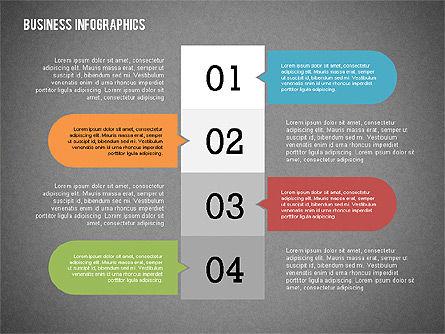 Business Infographics with Smartphone, Slide 13, 02352, Presentation Templates — PoweredTemplate.com