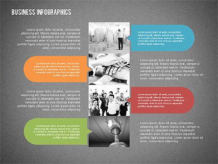 Business Infographics with Smartphone, Slide 15, 02352, Presentation Templates — PoweredTemplate.com