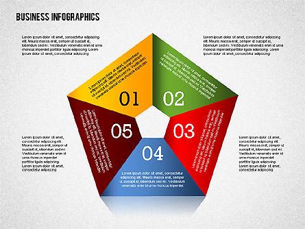 Business Infographics with Smartphone, Slide 4, 02352, Presentation Templates — PoweredTemplate.com