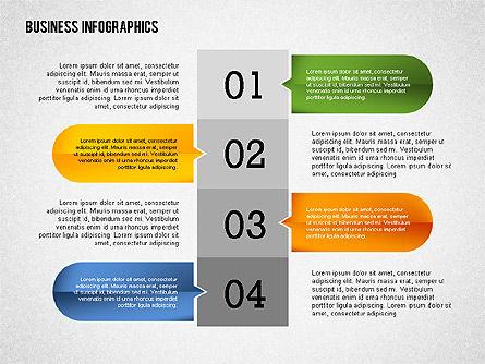 Business Infographics with Smartphone, Slide 5, 02352, Presentation Templates — PoweredTemplate.com