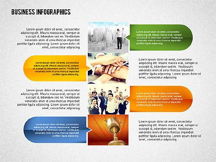 Business Infographics with Smartphone, Slide 7, 02352, Presentation Templates — PoweredTemplate.com