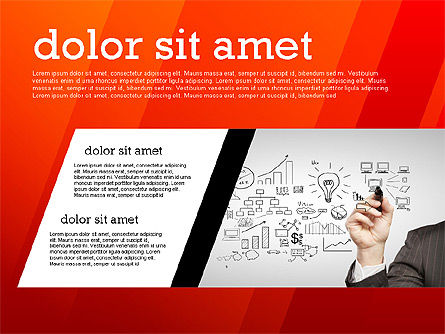 Presentation Templates: Modern Energetic Presentation (data driven) #02353