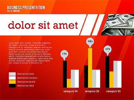 Modern Energetic Presentation (data driven), Slide 2, 02353, Presentation Templates — PoweredTemplate.com