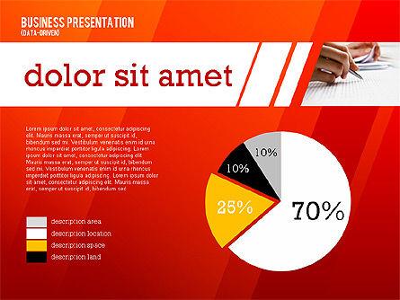 Modern Energetic Presentation (data driven), Slide 4, 02353, Presentation Templates — PoweredTemplate.com