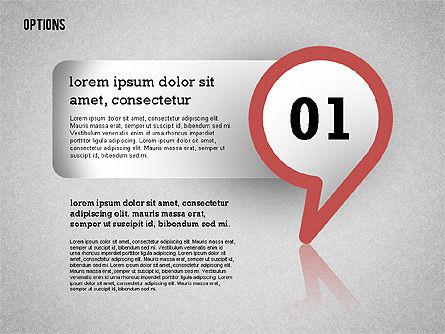 Colorful Options Toolbox, Slide 10, 02356, Shapes — PoweredTemplate.com