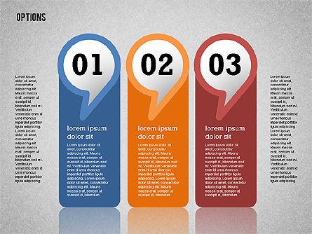 Colorful Options Toolbox, Slide 11, 02356, Shapes — PoweredTemplate.com