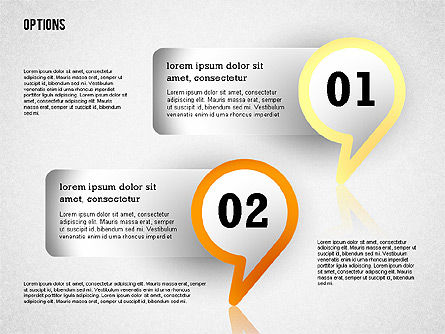 Colorful Options Toolbox, Slide 4, 02356, Shapes — PoweredTemplate.com