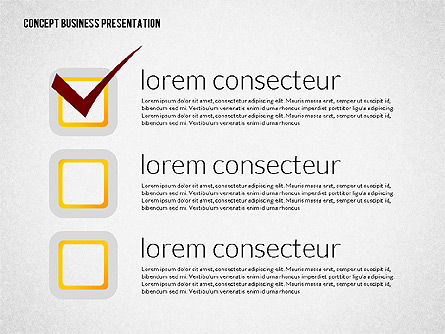 Business Presentation Template Concept with Character, Slide 3, 02357, Presentation Templates — PoweredTemplate.com