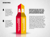Shapes: Flat Designed Infographic Shapes #02358