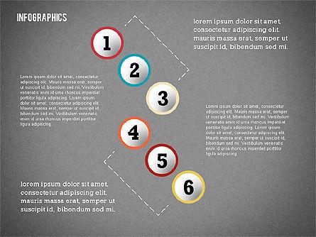 Modern Presentation with Flat Shapes, Slide 12, 02360, Presentation Templates — PoweredTemplate.com