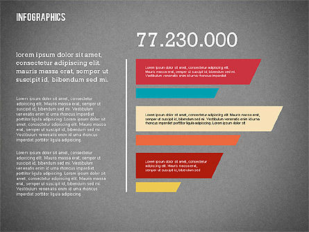 Modern Presentation with Flat Shapes, Slide 14, 02360, Presentation Templates — PoweredTemplate.com