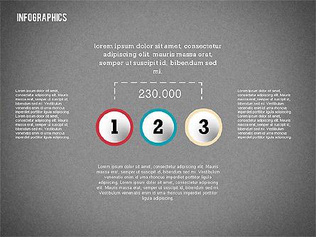Modern Presentation with Flat Shapes, Slide 9, 02360, Presentation Templates — PoweredTemplate.com