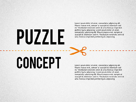 Puzzle Diagrams: Cutting Puzzles #02361