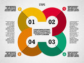 Stage Diagrams: Colorful Tape Steps Toolbox #02362