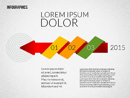 Colorful Presentation Infographics, 02364, Infographics — PoweredTemplate.com