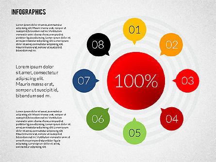 Colorful Presentation Infographics, Slide 2, 02364, Infographics — PoweredTemplate.com