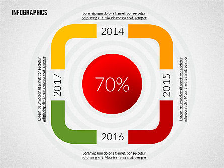 Colorful Presentation Infographics, Slide 4, 02364, Infographics — PoweredTemplate.com
