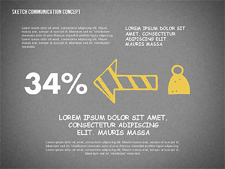 Communication Presentation Template, Slide 16, 02365, Presentation Templates — PoweredTemplate.com