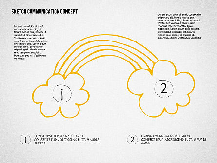 Communication Presentation Template, Slide 5, 02365, Presentation Templates — PoweredTemplate.com