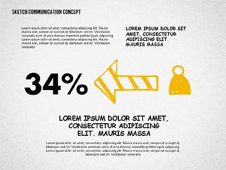Communication Presentation Template, Slide 8, 02365, Presentation Templates — PoweredTemplate.com