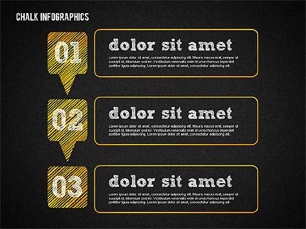 Chalk Infographics, Slide 10, 02375, Infographics — PoweredTemplate.com