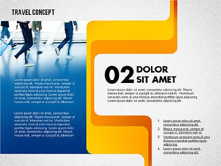 Travel Presentation Concept, Slide 3, 02382, Presentation Templates — PoweredTemplate.com