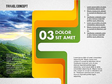 Travel Presentation Concept, Slide 4, 02382, Presentation Templates — PoweredTemplate.com