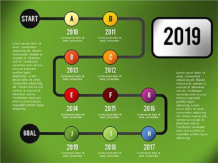 Reaching Goal Process Presentation, Slide 10, 02384, Process Diagrams — PoweredTemplate.com