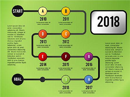 Reaching Goal Process Presentation, Slide 9, 02384, Process Diagrams — PoweredTemplate.com
