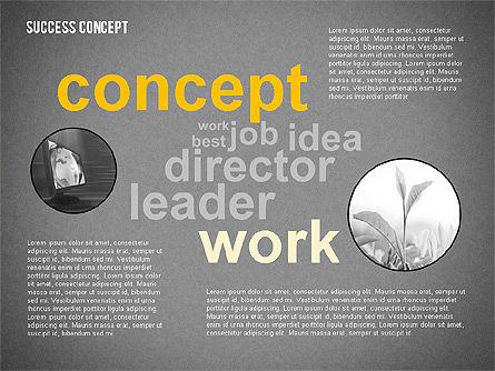 Success Concept Word Cloud, Slide 13, 02385, Presentation Templates — PoweredTemplate.com