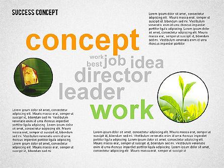Success Concept Word Cloud, Slide 5, 02385, Presentation Templates — PoweredTemplate.com