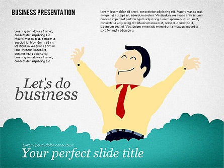 Presentation Templates: Success Business Presentation Template #02389