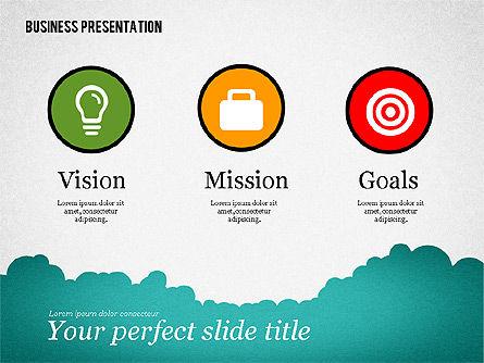 Success Business Presentation Template, Slide 2, 02389, Presentation Templates — PoweredTemplate.com