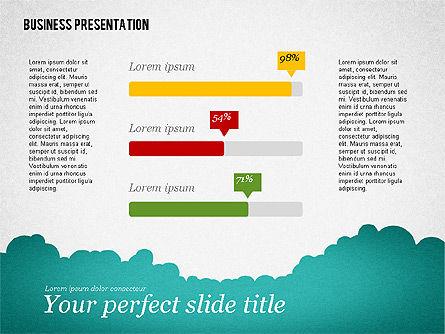 Success Business Presentation Template, Slide 4, 02389, Presentation Templates — PoweredTemplate.com