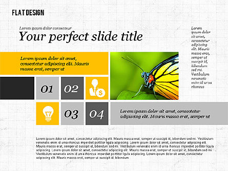Environmental Presentation in Flat Design, Slide 2, 02390, Presentation Templates — PoweredTemplate.com