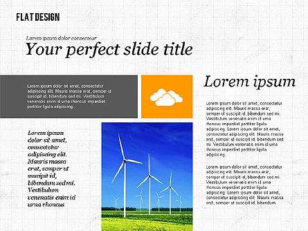 Environmental Presentation in Flat Design, Slide 3, 02390, Presentation Templates — PoweredTemplate.com