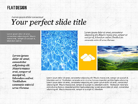 Environmental Presentation in Flat Design, Slide 4, 02390, Presentation Templates — PoweredTemplate.com