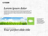 Presentation Templates: Environmental Presentation in Flat Design #02390