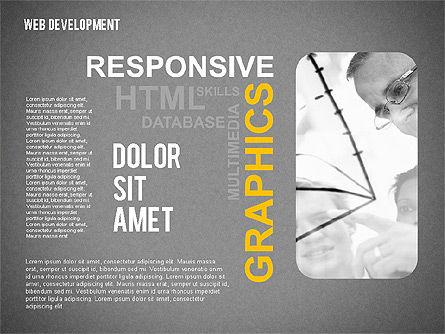 Web Development Word Cloud, Slide 12, 02393, Presentation Templates — PoweredTemplate.com